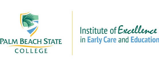 Palm Beach State College Institute of Excellence in Early Care and Education Logo